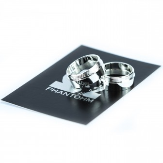 Contact rings Silver M